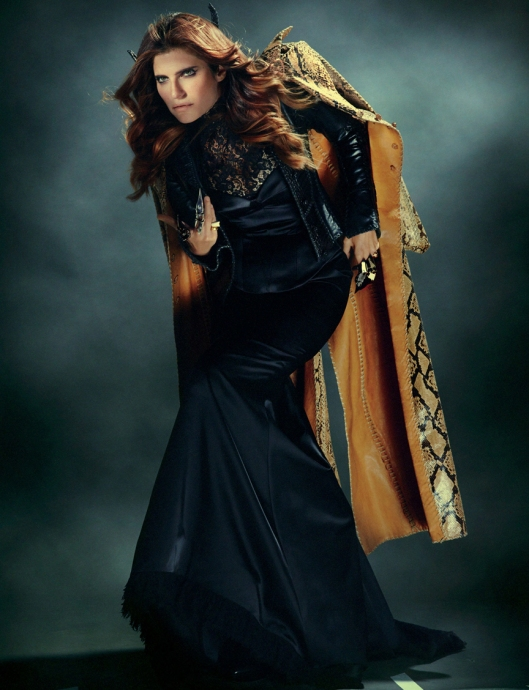 Lake Bell - Twelv F/W in Lost Art Python Coat Photo Christian Anwander Style Sarah Granetz
