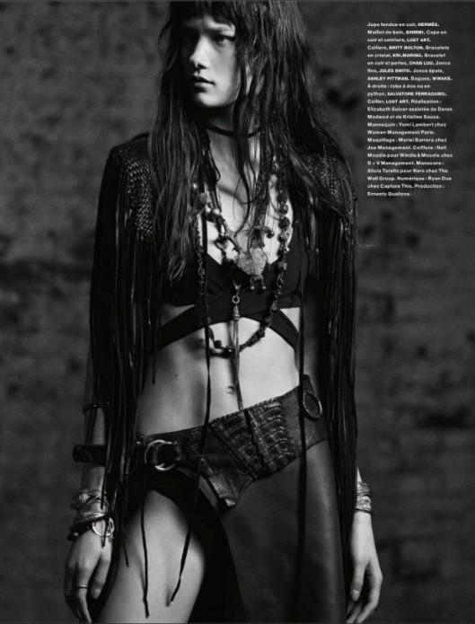 Yumi-Lambert-wears-Lost Art-Numero-by-Greg-Kadel